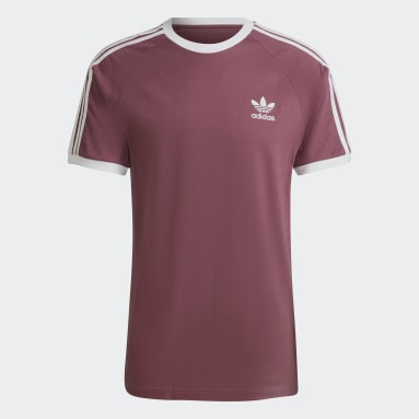 Adicolor Classics 3-Stripes T-skjorte Brun