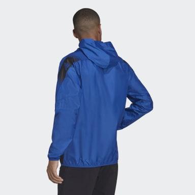 Rompevientos Designed to Move Sport Azul Hombre Training