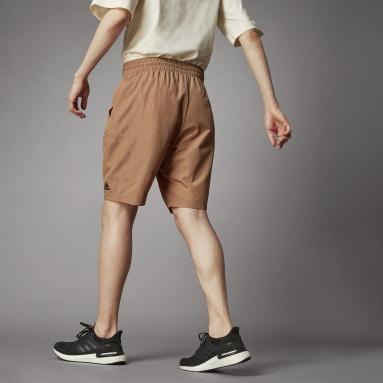 ผู้ชาย Sportswear สีน้ำตาล SHORT O-SHAPE M