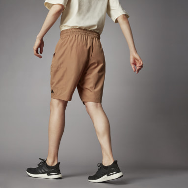 Short Terra Love O-Shape Marron Hommes Lifestyle