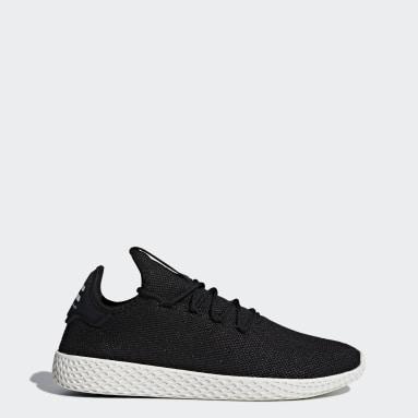 Men Originals Black Pharrell Williams Tennis Hu Shoes