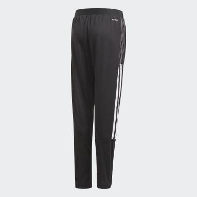 Pantaloni da allenamento Tiro 21 Nero Bambini Calcio