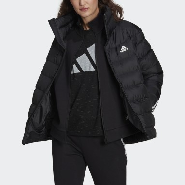 Giacca Itavic 3-Stripes Midweight Nero Donna City Outdoor