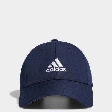 Jungen Golf Performance Kappe Blau
