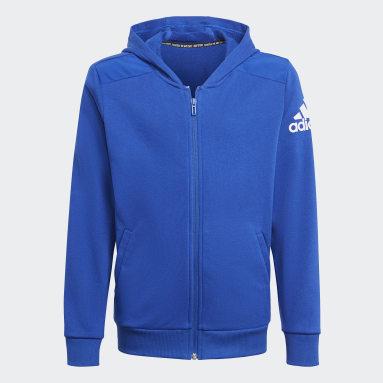 синий Толстовка Logo