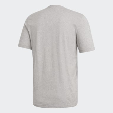 серый Футболка Essentials Linear Logo