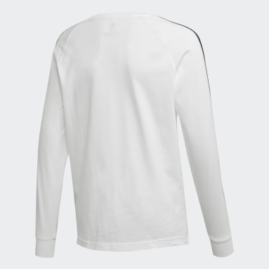 T-shirt 3-Stripes blanc Adolescents 8-16 Years Originals