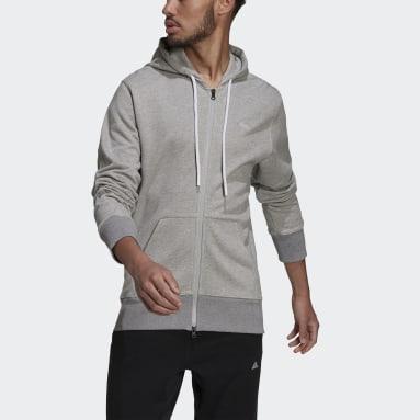 Heren Sportswear Grijs adidas Sportswear Comfy & Chill Ritshoodie