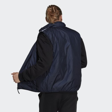 Muži Městský Outdoor modrá Vesta Essentials Insulated