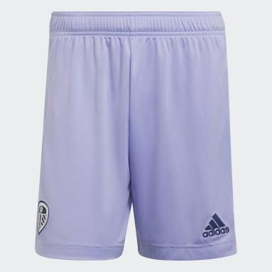 Pantalón corto tercera equipación Leeds United FC 21/22 Violeta Fútbol