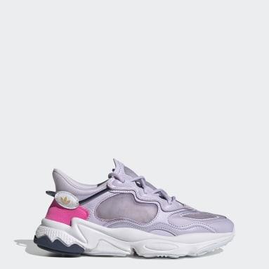 Women Originals Purple OZWEEGO Lite Shoes