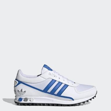 Men Originals White LA Trainer 2 Shoes
