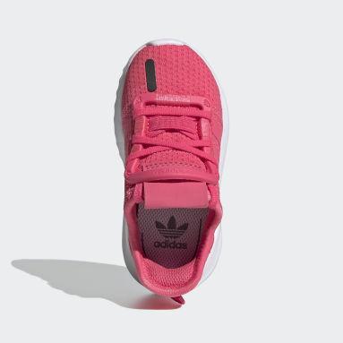 Tenis U_Path Run (UNISEX) Rosa Niño Originals