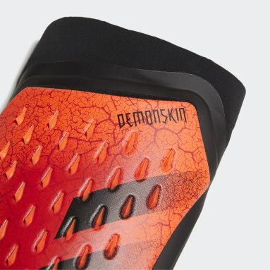Futbal oranžová Chrániče predkolenia Predator Pro