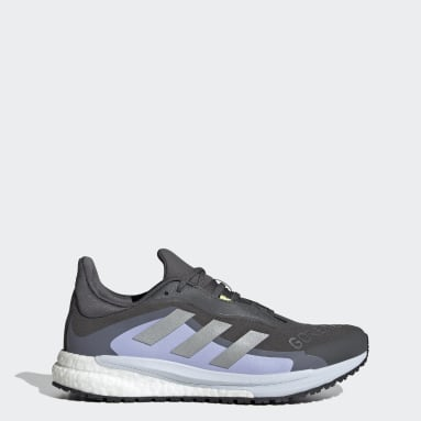 Zapatilla SolarGlide 4 GORE-TEX Gris Mujer Running