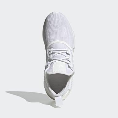 ผู้ชาย Originals สีขาว รองเท้า NMD_R1 Primeblue