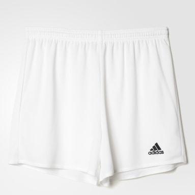 Shorts Parma 16 Branco Mulher Futebol