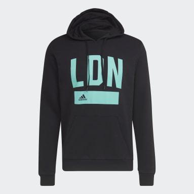 Mænd Sportswear Sort London Collegiate Series hættetrøje