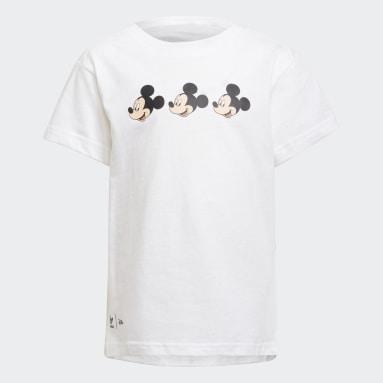 T-shirt Disney Mickey and Friends Bianco Bambini Originals