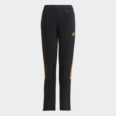 Youth Soccer Black Tiro Winterized Pants