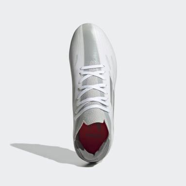 Kids Football White X Speedflow.1 Firm Ground Boots
