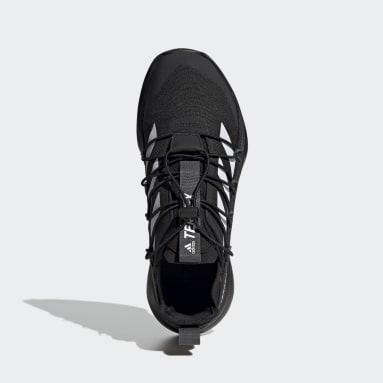 Men TERREX Black Terrex Voyager 21 Canvas Travel Shoes