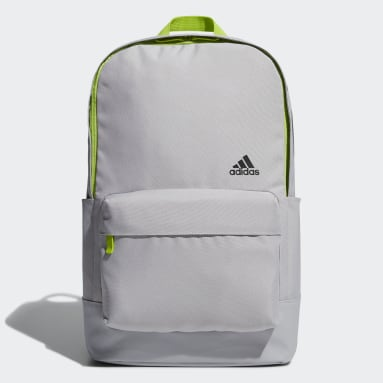 Men Training Grey Classic Graphic Backpack