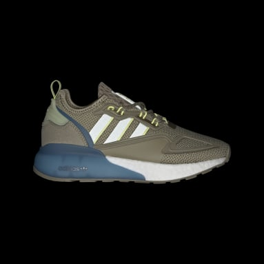 Youth Originals Green ZX 2K Boost Shoes
