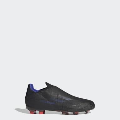 Children Soccer Black X Speedflow+ Firm Ground Cleats