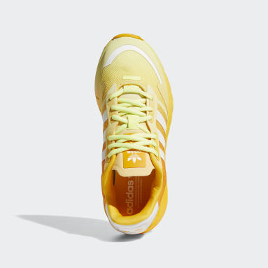 Women's Originals Yellow ZX 1K Boost Shoes