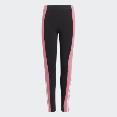 Mallas adidas Essentials Colorblock Negro Niña Sportswear