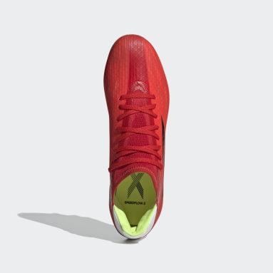 Fotbal červená Kopačky X Speedflow.3 Multiground