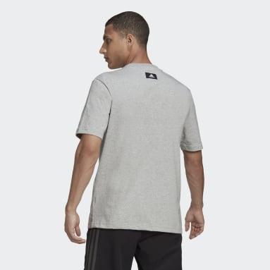Men's Sportswear Grey adidas Sportswear Future Icons Logo Graphic Tee