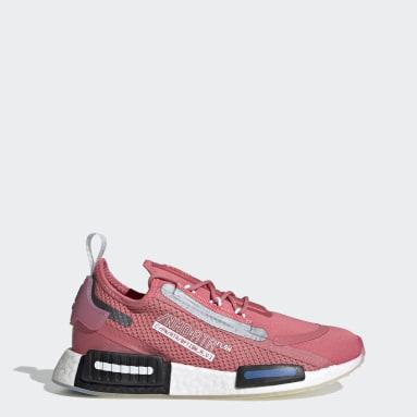 ผู้หญิง Originals สีชมพู รองเท้า NMD_R1 Spectoo