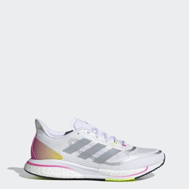 Women Running White Supernova+ Shoes
