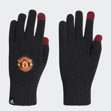 Fotbal černá Rukavice Manchester United
