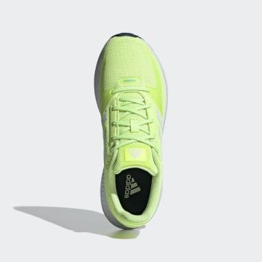 Women Running Yellow Run Falcon 2.0 Shoes