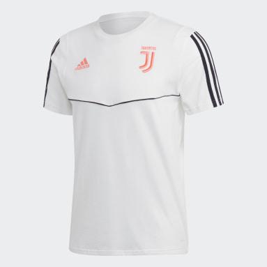 Men Football White Juventus T-Shirt