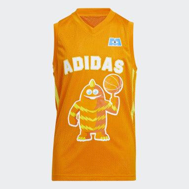 Kinderen Basketbal Oranje Little Kids George Sanderson Shirt