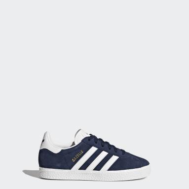 Jungen Originals Gazelle Schuh Blau