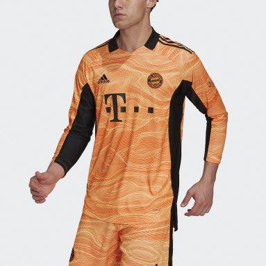 Maglia Goalkeeper 21/22 FC Bayern München Arancione Uomo Calcio