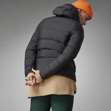 Chaqueta con capucha Helionic Down Negro Mujer Outdoor Urbano