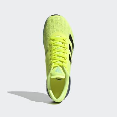Men's Running Yellow Adizero Boston 9 Shoes
