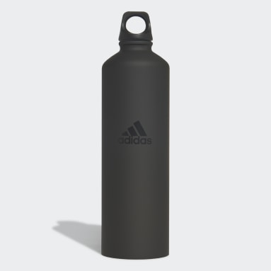 Yoga zwart Stalen Fles 0,75L
