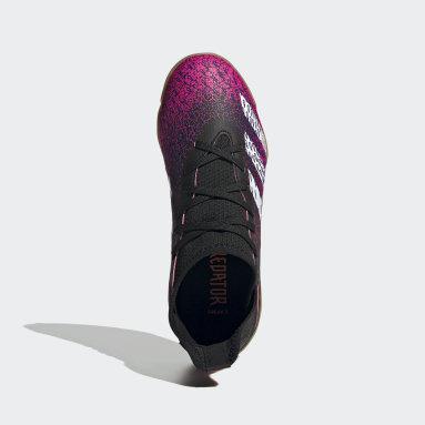 Children Soccer Black Predator Freak.3 Indoor Shoes