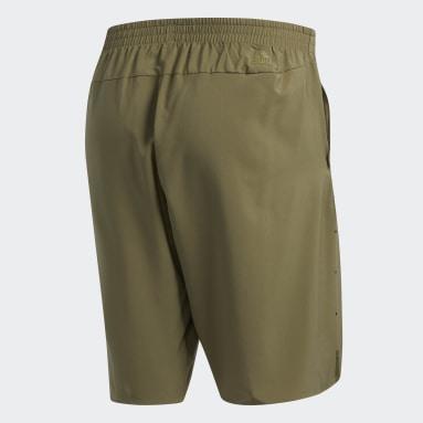 Men Running Green Supernova Pure Parley Shorts