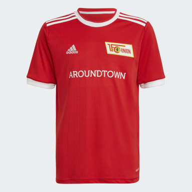 Youth 8-16 Years Football Red 1. FC Union Berlin 21/22 Home Jersey
