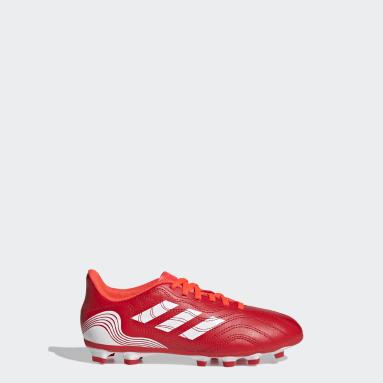 Kids Football Red Copa Sense.4 Flexible Ground Boots