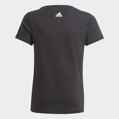 T-shirt adidas Essentials Nero Ragazza Sportswear