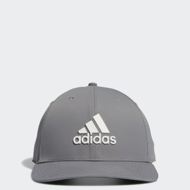 Men Golf Grey Tour Snapback Hat